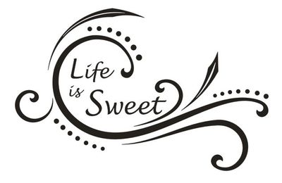 Wandtattoo Life is sweet 2  – Bild 2