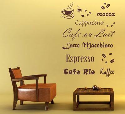 Wandtattoo Kaffee 2