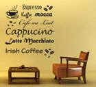 Wandtattoo Kaffee 1
