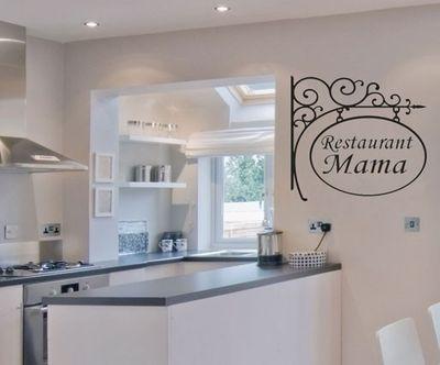 Wandtattoo Restaurant La Mama... 2  – Bild 1