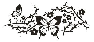 Wandtattoo chinesische Blume 42 – Bild 2