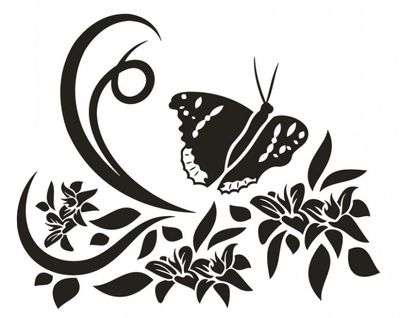 Wandtattoo chinesische Blume 22 – Bild 2