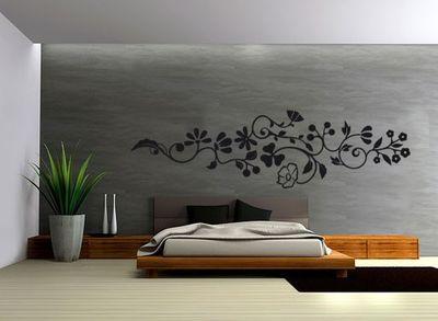 Wandtattoo Blume clf. 012