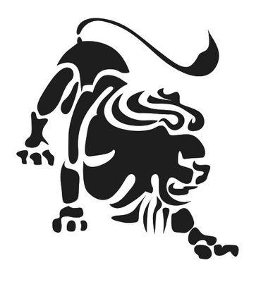 Wandtattoo Sternzeichen Löwe – Bild 2
