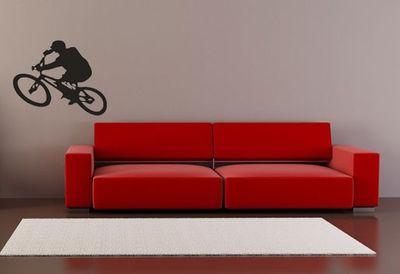 Wandtattoo BMX Biker Ex 17