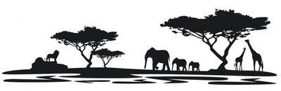 Wandtattoo Afrika M4  – Bild 2