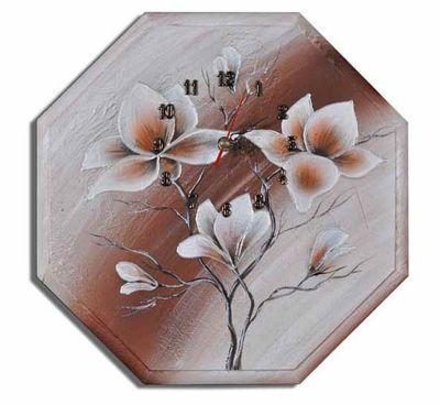 Wanduhr - Blumen M1 – Bild 1