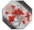 Wanduhr - Blumen M2 001