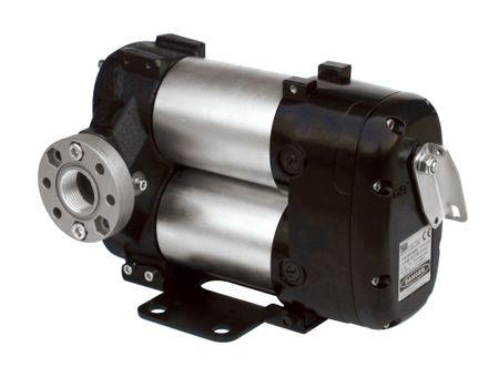 """24V Piusi Bi-Pump Dieselpumpe Betankungspumpe mit 4m Batteriekabel, Sicherung, Netzschalter, Anschlüsse: Rundflansch 1"""" IG,  max. 85 l/min – Bild 1"""