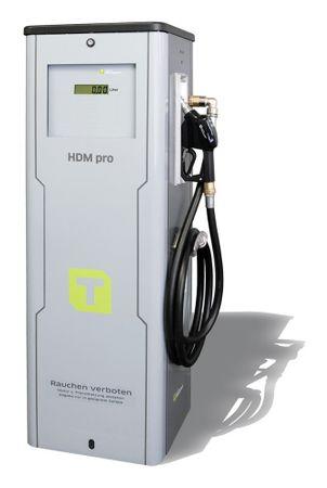 Diesel Zapfsäule HDM080 Pro mit Literzähler, nicht eichfähig, Anschlussspannung 400V, inkl. 4m Zapfschlauch DN 25 und autom. Zapfpistole