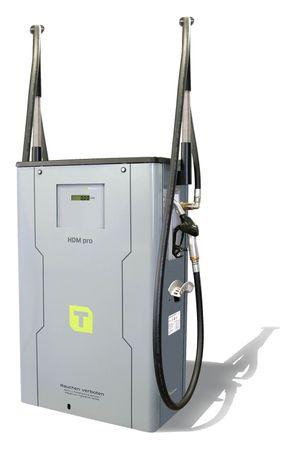 Diesel Zapfsäule HDM150/50 Pro mit Literzähler, nicht eichfähig, 2 Zapfpunkte mit je 4m Zapfschlauch und automatischem Zapfventil