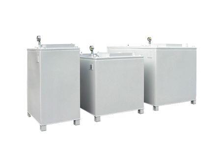 Rombicus® 400 Doppelwandiger Lagerbehälter für wassergefährdende Flüssigkeiten Zulassung DIBt Z-38.12-259, Inhalt 400 Liter – Bild 1