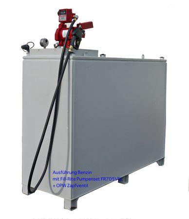Rombicus® 2400 Doppelwandiger Lagerbehälter für wassergefährdende Flüssigkeiten Zulassung DIBt Z-38.12-259, Inhalt 2400 Liter – Bild 4