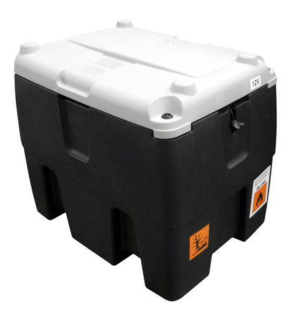 232l Transporttank für Diesel mit 230V Dieselpumpe, Zählwerk mit LCD Anzeige, 4m Schlauch, autom. Zapfpistole, abschließbarer Deckel. Zulassung nach Handwerkerregelung entsprechend ADR1.1.3.1c – Bild 2