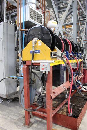 """GRACO Schlauchaufroller Serie XD50 für Kraftstoffschlauch 1 1/2"""" max. 15m – Bild 10"""