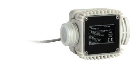 """Piusi K24 Messkammer für AdBlue® mit Impulsgeber,  87,73 pulse/l, Anschlüsse 1"""" AG, Lieferung mit 1"""" Edelstahlmuffe"""