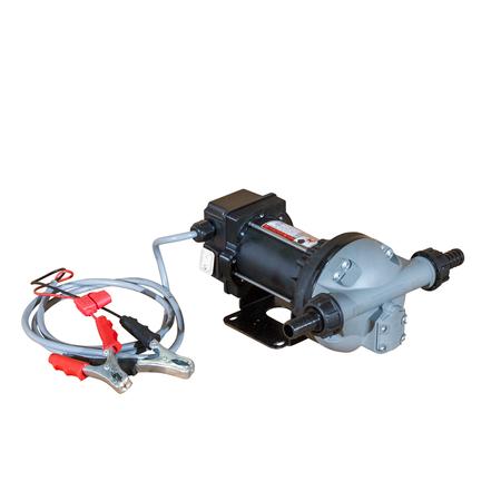 12V Membranpumpe für AdBlue®, Wasser, 35 l/min, mit 4m Kabel und Klemmen