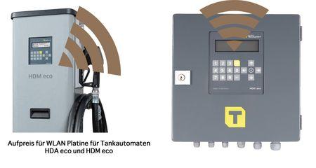 Aufpreis: WLAN Anschluss für HDA eco + HDM-eco