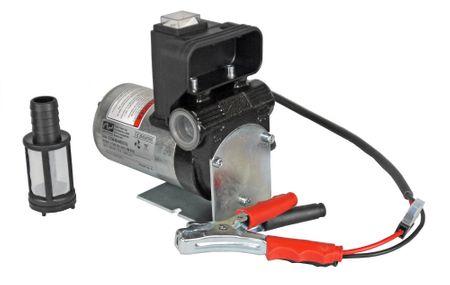 """Adam Pumps Dieselpumpe 12V mit Tragegriff, Schalter, 4m Batteriekabel mit Klemmen und Sicherung, max. 40 l/min. Anschlüsse 3/4"""" IG – Bild 1"""