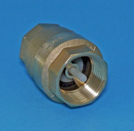 """Rückschlagventil / Zwischenventil 3/4"""" IG, Nylon Platte mit NBR Dichtring, für Diesel geeignet – Bild 1"""