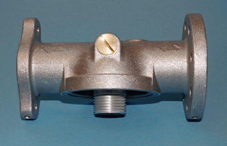 """Filterkopf passend für  Filterpatrone FT600A und FT1000 Anschlüsse 1"""" IG und 1/4"""" IG sowie Oval- und Rundflansch, Anschluss für ein Manometer, auch passend für Cim-Tek Filter Serie 200+300 – Bild 3"""