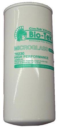 Cim-Tek Top-Bio Filter 260 Microglass  65 l/min., Filtrierung >2µ, geeignet für Diesel, Biodiesel, Pflanzenöle und Bio Öle. Arbeitsdruck max.: 3,4 Bar.