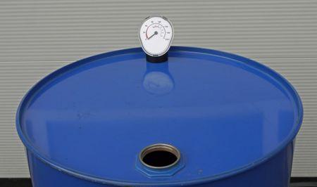 Füllstandsanzeige, Inhaltsanzeige Fully für 200 Liter Fässer, für Frischöle, Gebrauchtöl und andere Flüssigkeiten (außer Benzin) – Bild 2