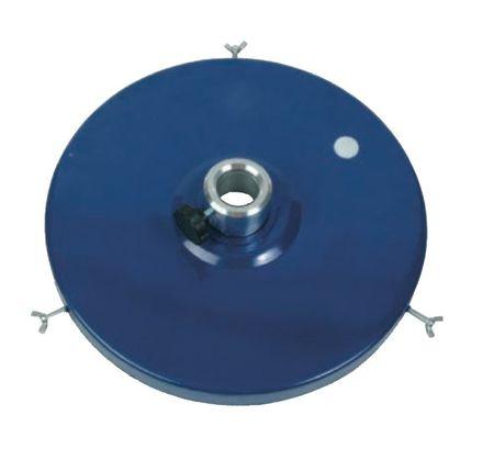 """Fettdeckel - Staubschutzdeckel mit 2"""" Innengewinde für PM Druckluftpumpen, passend für 25 kg Fetteimer ø 312 - 342 mm"""