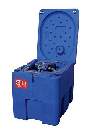 Transporttank für AdBlue® (AUS32) mit 230V Pumpe, Digitalzählwerk, 4m Schlauch, automatisches Zapfventil, Deckel. Inhalt 220 Liter Nutzvolumen – Bild 1