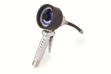"""Mechanischer Handdurchlaufzähler GRACO® SDMM8, Handgriff mit Drehgelenk 1/2"""" IG, flexibler Auslauf mit Tropfstopp-Funktion. Durchfluss max. 16 l/min."""