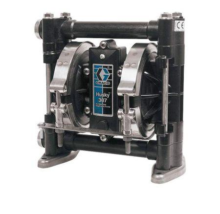 """GRACO AODD Doppelmembranpumpe 3/8"""", Modell HUSKY 307,AC,AC,HY,HY"""