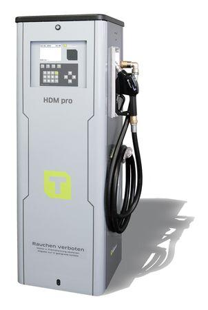 Diesel Zapfsäule HDM050 Pro mit Tankautomat HDA2, nicht eichfähig, max. 2000 Benutzer, inkl PC Software HD Manager eco, Transponderleser, USB Schnittstelle, Anschlussspannung 400V, inkl. 4m Zapfschlauch DN 25 und autom. Zapfpistole