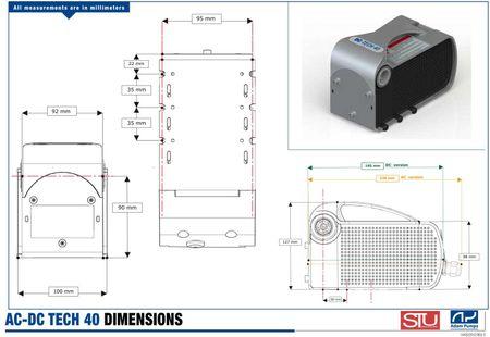 """Trocken-selbstansaugende Dieselpumpe 24V max. 40 l/min. Bypassventil, Anschlüsse 3/4"""" IG Netzschalter, 4m Kabel mit Batterieklemmen – Bild 2"""