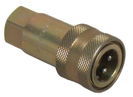 ZSA-Hydraulikkupplung mit Schlauchtülle DN15 nach ISO 7241B für Zentralschmieranlagen