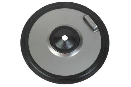 Fettfolgekolben 330-370 mm mit Gummironde für 50 kg Gebinde