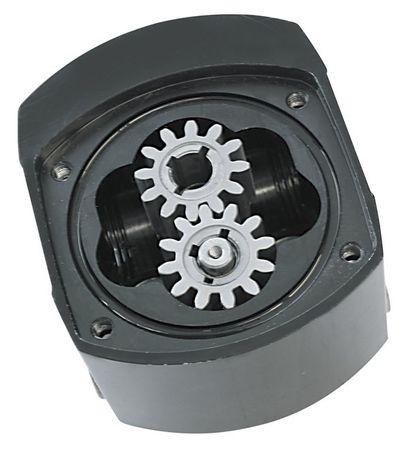 "Viscomat 60/1 12V DC Zahnradpumpe, Anschlüsse 1/2"" IG BSP, Netzschalter, geeignet für Öle bis 2000cSt. Förderleistung 4l/min, max. 5 bar – Bild 2"