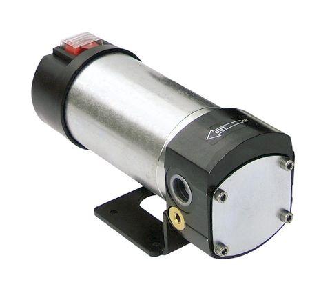 "Viscomat 60/1 24V DC Zahnradpumpe, Anschlüsse 1/2"" IG BSP, Netzschalter, geeignet für Öle bis 2000cSt. Förderleistung 4l/min, max. 5 bar – Bild 1"
