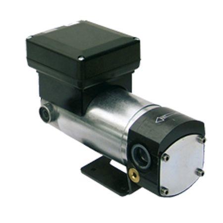 "Viscomat 120/1 24V DC Zahnradpumpe, Anschlüsse 1/2"" IG BSP, Netzschalter, geeignet für Öle bis 2000cSt. Förderleistung 5l/min, max. 10 bar – Bild 1"