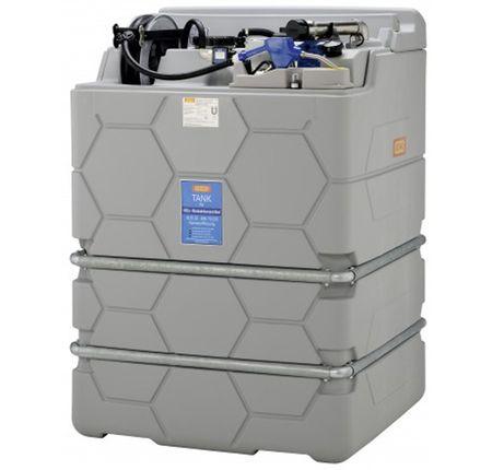 """CUBE-AdBlue®-Indoor Premium 2500 l, mit integr. Auffangwanne, Leckanzeige, Füllanschluss 2"""" Trockenkupplung, Überfüllsicherung, Füllstandsanzeige, 230V Pumpe, 8m Schlauch, autom. Schlauchaufroller, digit. Zählwerk, autom. Zapfventil"""