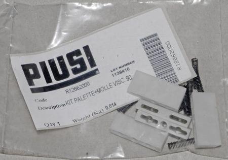 Original Piusi Ersatzteil: Treibschieber Gleitflügel Satz mit Federn für Piusi Pumpe Viscomat 90 – Bild 1