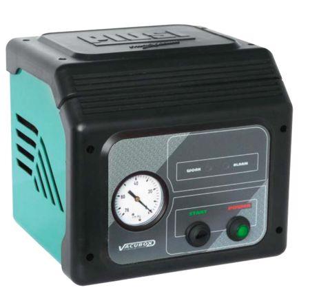 VACUBOX Automatisches 230V Ölabsauggerät für die Werkstatt, beleuchteter Netzschalter, Vakuum Manometer, autom. Pumpenstop – Bild 1