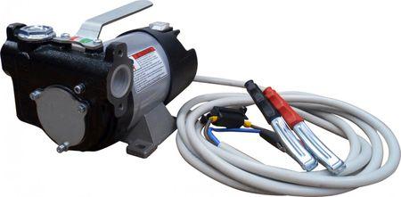 Adam Pumps 12V HighFlow Dieselpumpe, Betankungspumpe mit Tragegriff, max. 85 l/min., Schalter, 4m Batteriekabel mit Klemmen und Sicherung – Bild 1