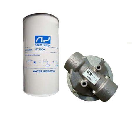"""Filterkopf 1"""" IG mit Filterpatrone 25µ mit Wasserabsorber, max. 120 l/min, bindet 0,48l Wasser."""