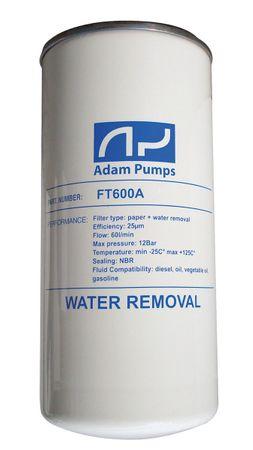 Ersatz Filterpatrone 25µ inkl. Wasserabsorber, max. 60 l/min,max. 12 bar, bindet 0,24l Wasser