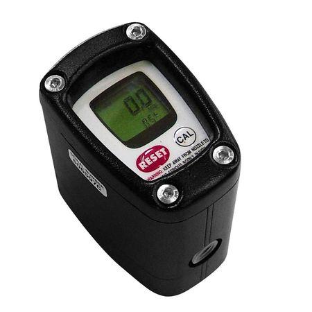 """K200 HP LCD: Ovalradzähler für Schmierfett, mit LC-Display, Durchfluss 0,1-2,5 l/min, max. 1000 bar, 1/8"""" BSP IG"""