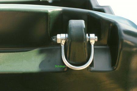 Kingspan TruckMaster® 430 mit 12V Dieselpumpe mobile Tankstelle, Transporttank für Diesel/Heizöl mit ADR Zulassung. 4m Zapfschlauch, autom. Zapfpistole, abschließbarer Deckel, Füllstandsanzeige, 4 Verzurrösen, LED Akkuleuchte mit Ladekabel – Bild 3