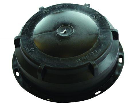 Verschlußdeckel Schraubkappe DN80 für Schütz Behälter mit S100x8 Gewinde