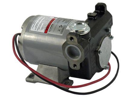 """Adam Pump PB 85-12 12V Dieselpumpe, Betankungspumpe max. 85 l/min., integr. Edelstahlfilter, Bypassventil, Anschlüsse 1"""" IG und Flansch – Bild 2"""