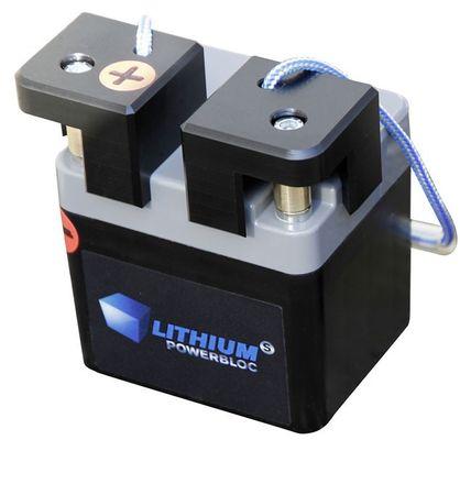 Li-Power-Block passend für 12V DC Pumpen, stromunabhängig mit Lithium-Eisenphosphat Akku , 13,3V 5,5Ah, inkl Ladegerät 100 - 240 VAC, Ausgang 14,4V - 3A – Bild 1