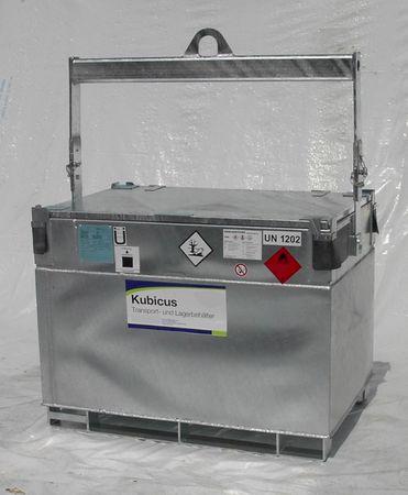 Forwarderbügel Hebebügel für Kubicus Transportbehälter mobile Dieseltankstelle – Bild 1